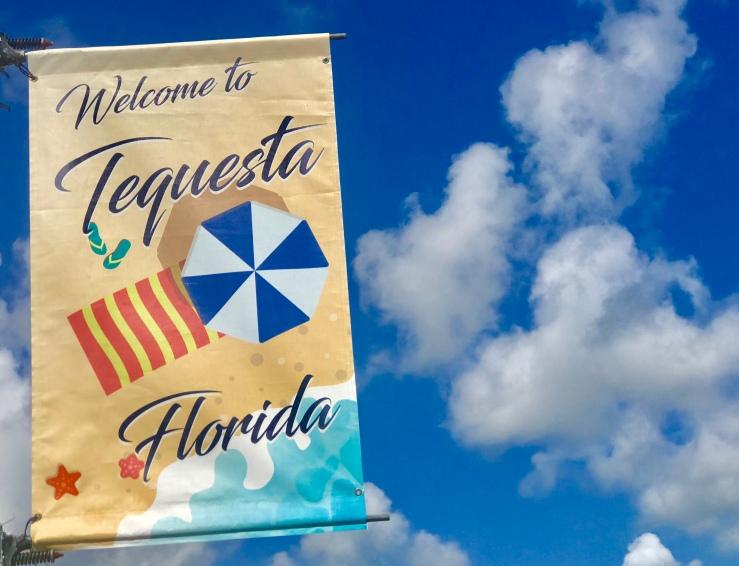 Tequesta Flag